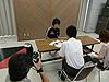 [写真]山形県広報室の皆さんから取材を受ける太田渉子