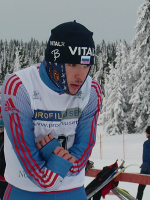 [写真]手袋をしていないロシアの選手