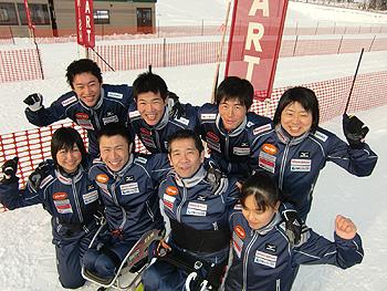 [写真]日本チームのメンバー