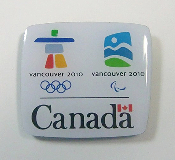[写真]バンクーバーオリンピック・パラリンピックのピンバッジ