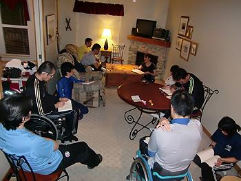 [写真]チームミーティング