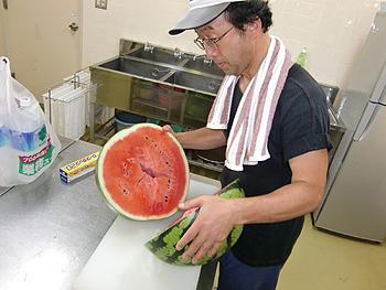 [写真]美味しい尾花沢スイカ