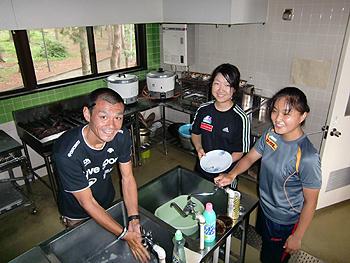 [写真]自炊できる厨房施設