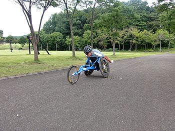 [写真]長田弘幸選手