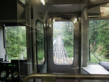 [写真]電車から見える山田線の線路