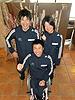 [写真]2011年飛躍の年へ決意する3選手