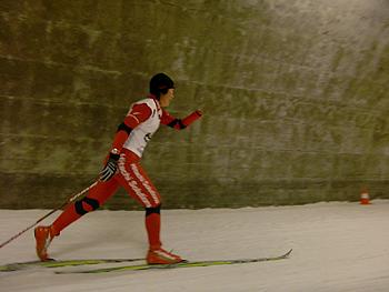 [写真]スプリント決勝の走り