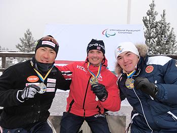 [写真]世界ランキングを争う3選手
