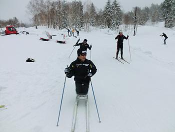 [写真]午前中シットスキー、午後はレーサーの練習メニュー