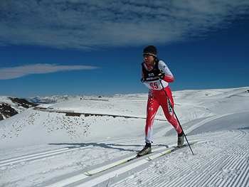 [写真]出来島桃子選手10km42分48秒