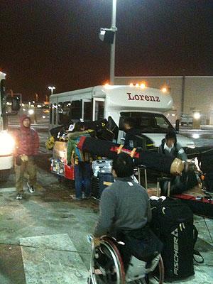 [写真]ミネアポリスからバスで4時間、ケーブルへ