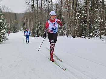 [写真]太田渉子選手、クラシカル15kmレース