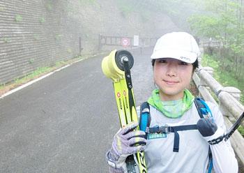 [写真]ゴールした太田渉子