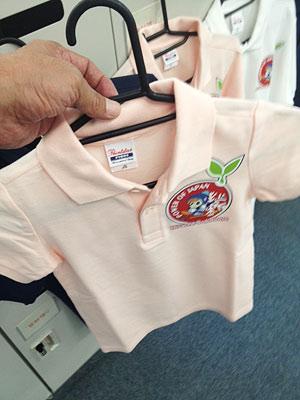 [写真]お子さん用ポロシャツ