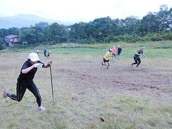 [写真]ジャンプトレーニング