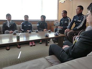 [写真]全日本の選手たち