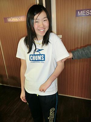 [写真]阿部友里香のクラスはLW6