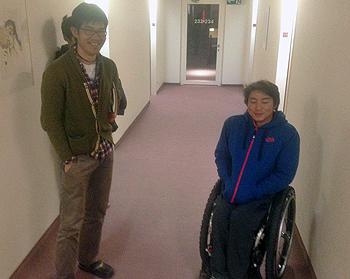 [写真]森井大輝選手と新田佳浩