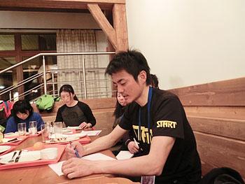 [写真]ワックスチーフの山田さん