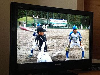 [写真]セガサミー野球部の少年野球教室