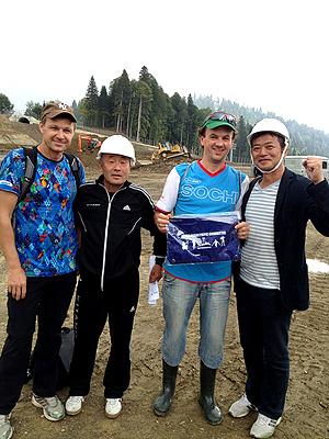 [写真]ソチオリンピック・パラリンピック距離スキー会場