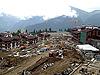 [写真]ノルディックスキー ハウジング、急ピッチで建設中