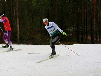 [写真]アンナ選手(ロシア)のスケーティング