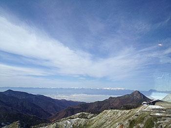 [写真]遠くの山々