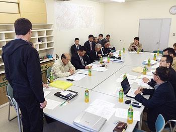 [写真]IPCとのワールドカップ旭川大会開催に関するミーティング