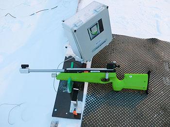 [写真]EKO社の電子銃