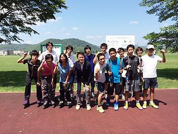 [写真]999ACチームの皆さんと集合写真