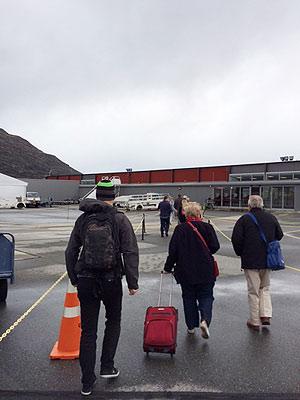 [写真]クイーズタウン空港