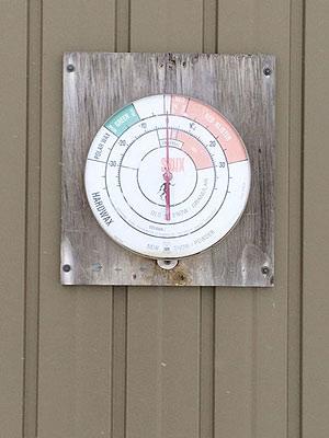 [写真]温度計