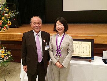 [写真]加藤市長と太田渉子