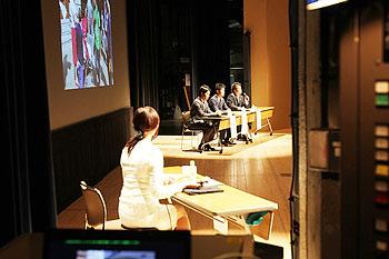 [写真]新田佳浩選手も交えたアスリートトークセッション