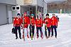 [写真]大滝合宿中のワールドカップ遠征組