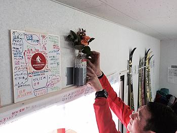 [写真]フラワーセレモニーの花束