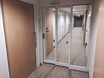 [写真]宿泊棟入口