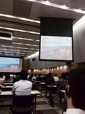 [写真]IPC(国際パラリンピック委員会)会長講演会