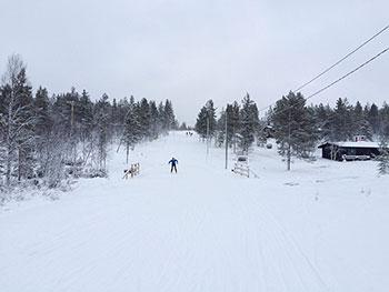 [写真]スキーコース