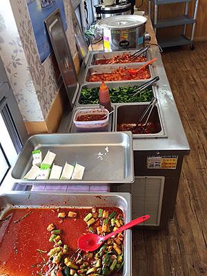 [写真]食堂の料理