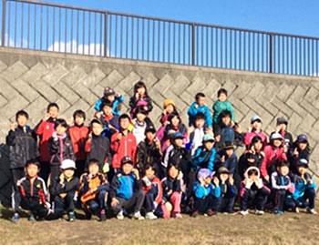[写真]美幌町クロスカントリースキー少年団のみなさん