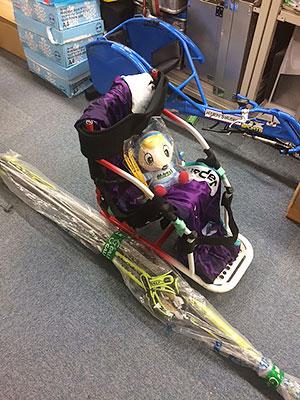 [写真]長田弘幸さんのシットスキー