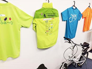 [写真]ワールドカップ旭川大会のボランティアジャケット