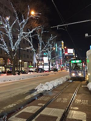 [写真]札幌市内の風景