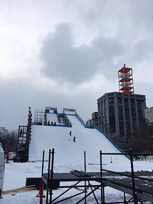 [写真]白い恋人 PARK AIR ジェンプ台