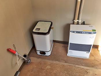 [写真]暖房完備です