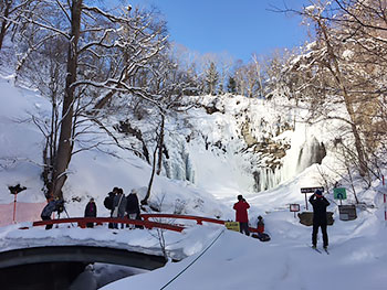 [写真]鱒見の滝
