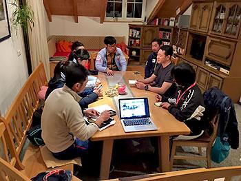 [写真]スタッフ会議、そしてチームミーティング