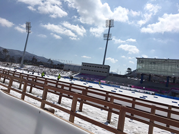 [写真]パラリンピックスタジアム
